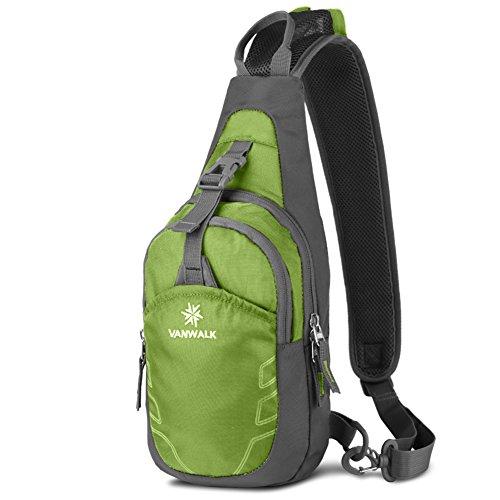 La pechera Hombres/bolsa de deporte al aire libre/Mujer Bolsa de viaje/Bolsos de hombro de los hombres/Bolso de la lona de viaje-verde fruta verde 1