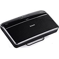 LOTOS Bluetooth 4.0 Visor Handsfree In-Car Speakerphone Car kit for for iPhone6 / 6 plus / 5S / 5 / 5C / 4S / 4, Ipod, Samsung Galaxy and other smartphone / cell phone