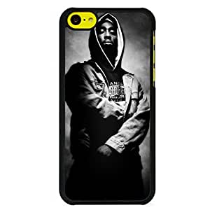 2pac Rapper Tupac Shakur Black Rap Custom Case for Iphone 5c