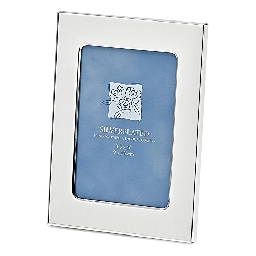 - Silver-plated Classic 3.5x5 Photo Frame
