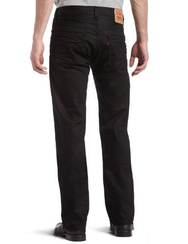 Levi's Men's 501 Original Fit Jean, Polished Black, 31x30
