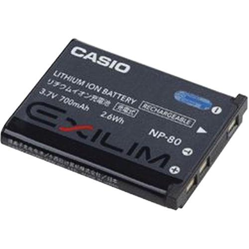 Casio NP-80 Lithium Ion Rechargeable Battery