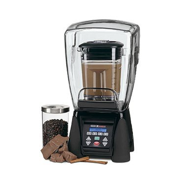 Waring MX1500XTXP Xtreme 3 1/2 HP Commercial Blender with Programmable Keypad and LCD Screen, Adjustable Speed, and 48 Ounce Copolyester Container