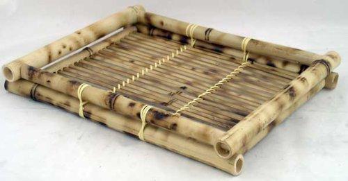 (Bamboo Tray For Tea Sets and Sake Sets MED)