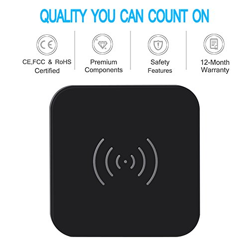 CHOETECH-Qi-Certified-T511-Qi-Wireless-Charger-Pad-with-Anti-Slip-Rubber-for-Qi-Enabled-Devices-Black