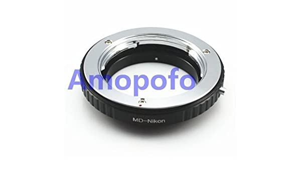 amopofo MD-Nikon adaptador para objetivo Minolta MD a Nikon F ...