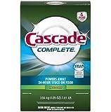 Cascade Complete, Powder Dishwasher Detergent, Fresh Scent 125 Oz