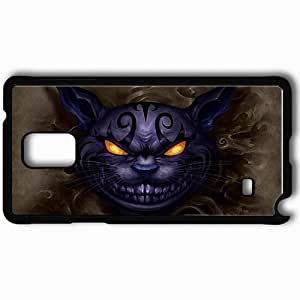 Personalized Samsung Note 4 Cell phone Case/Cover Skin Alice Madness Returns Black by icecream design