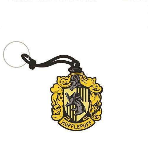 Chaveiro Emborrachado Harry Potter Hufflepuff