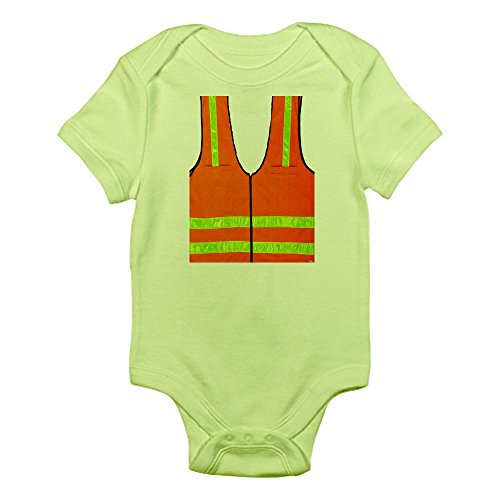 Baby Halloween Costumes Mother Care (CafePress - reflective vest safety halloween costume security - Cute Infant Bodysuit Baby Romper)