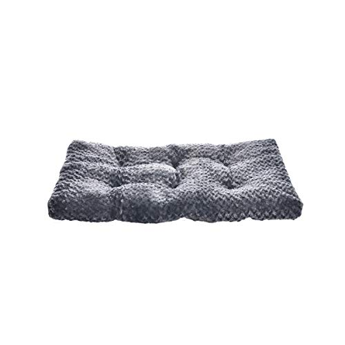 AmazonBasics Pet Dog Bed Pad - 35 x 23 x 3 Inch, Grey Swirl from AmazonBasics