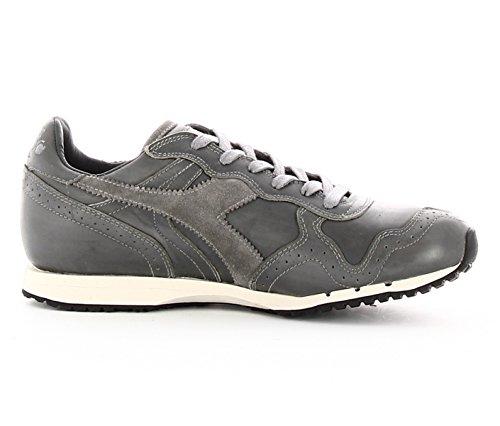 Diadora Heritage Trident Brogue lice Gray Sneaker Trident Grigio 42 Uomo