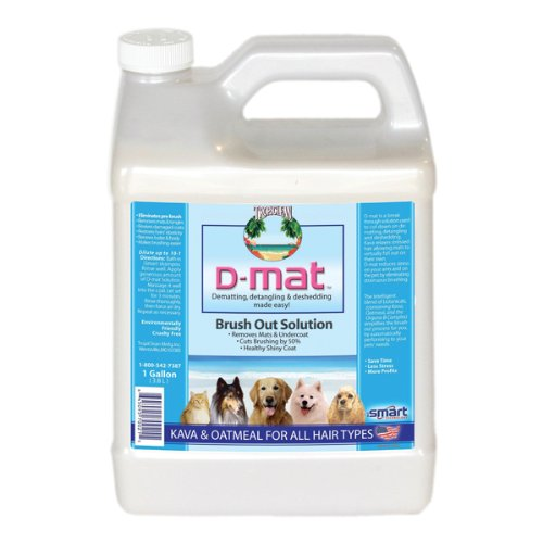 TropiClean Dog and Cat D-Mat Solution, 1-Gallon, My Pet Supplies