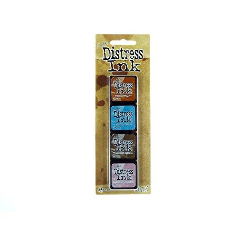 Distress Mini Ink Kits-Kit 6 Ranger 394083