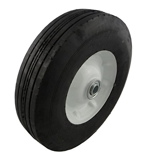 "Marathon 10x2.75"" Semi-Pneumatic Tire on Wheel"