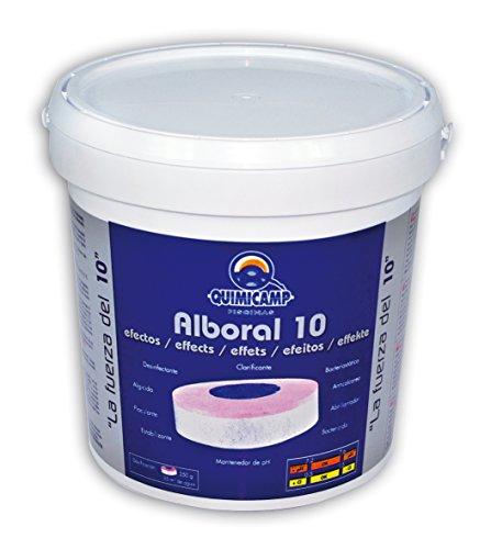 🥇 Quimicamp – Alboral 10 Efectos Tabletas 250gr