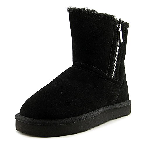 Toe Style Womens Boots Ankle Cold Weather Closed amp; Leather Ciley Black Co qYYxgHA1