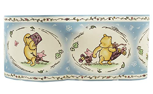 Bedroom Border Disney Baby Classic Drawing Winnie The Pooh - Border Classic Pooh