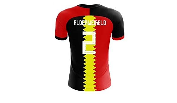 8bbb9bdb6e2 Amazon.com   Airosportswear 2018-2019 Belgium Flag Concept Football Soccer  T-Shirt Jersey (Toby Alderweireld 2)   Sports   Outdoors