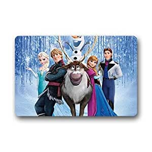 """Generic Custom Felpudo Alfombrilla Antideslizante para Entrada Frozen 18""""x 30"""""""
