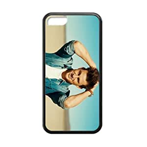 CTSLR Laser Technology Channing Tatum Protective TPU Case Cover Skin for Cheap phone iphone 5/5s iphone 5/5s-1 Pack- Black - 4