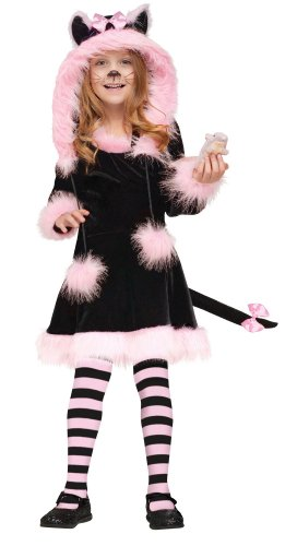 [Pretty Pink Kitty Toddler or Child Halloween Costume - 3T-4T] (Child Pretty Kitty Costumes)