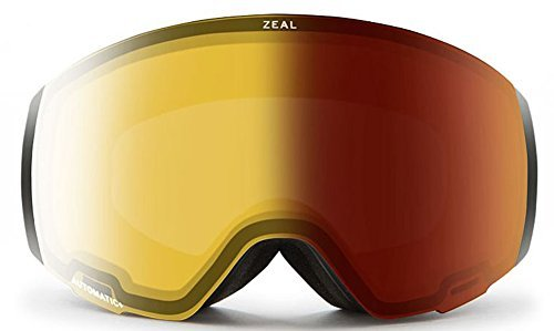 b584a2e5630e Zeal Optics Portal Goggle - Dark Night Frame with Automatic YB Sky Blue  Mirror Lens