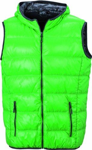 Nicholson James Green hombre Verde para Chaqueta Men's down Carbon amp; vest a5Srq56w