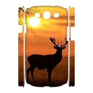 HOPPYS Deer Phone 3D Case For Samsung Galaxy S3 I9300 [Pattern-2]