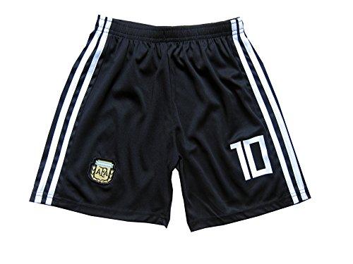 83cff4e2b KID BOX 2018 Argentina Lionel Messi  10 Away Soccer Kids Jersey   Short Set  Youth