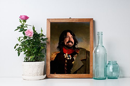 - In With The Old Dave Grohl - Limited Poster Artwork - Professional Wall Art Merchandise - Singer, Foo Fighters, Nirvana