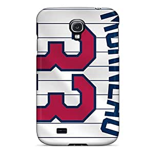 Perfect Hard Phone Cover For Samsung Galaxy S4 (tnc14694gakE) Allow Personal Design Nice Minnesota Twins Image WANGJING JINDA