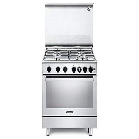 Cucina a Gas con Forno a Gas Ventilato con Grill 60x60 cm ...