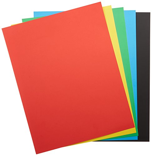 CRAYOLA POSTER BOARD 5 Sheets, and 5 Colors. -