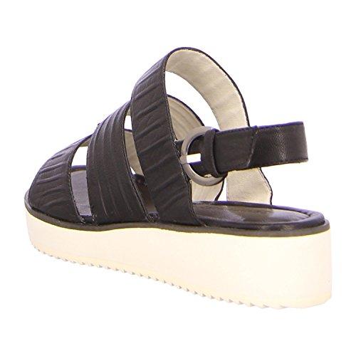 vestir GERRY de WEBER 90100 negro G15501 para Negro Sandalias mujer XXwdrI