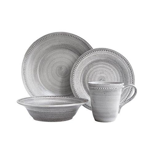 American Atelier 6856-16-RB Elegant Stone Dinnerware Set