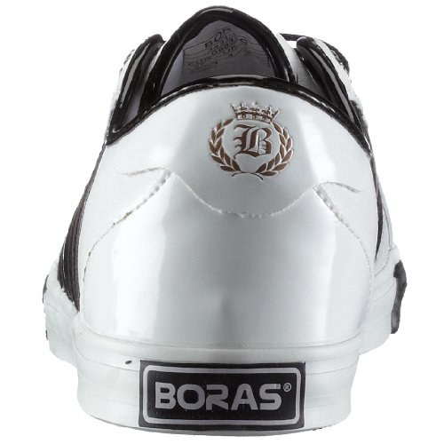 Boras CORA 3431, Damen Sneaker Weiss (White/Black/Gold919)
