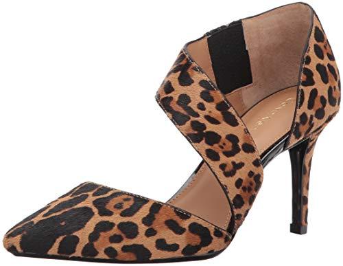 - Calvin Klein Women's Gella Dress Pump, Leopard Haircalf, 6 Medium US