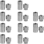 VICASKY 10Pcs 4 Jaw Tipo Pressão Pulverizador Bicos de Graxa Graxa Acoplador para Graxa de Carro Peças de Repo