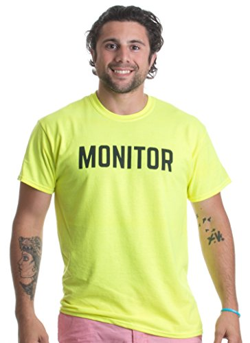 MONITOR | Risk Manager, Sober Monitor Party Security Safety Duty Unisex T-shirt