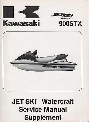 - 2001 Kawasaki 900STX 900 STX Jet Ski Watercraft Service Manual Supplement