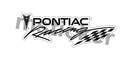 (Pontiac Racing Sticker Decal Aufkleber Windows Bumper Muscle Car Truck America Patriotic Cult Laptop)