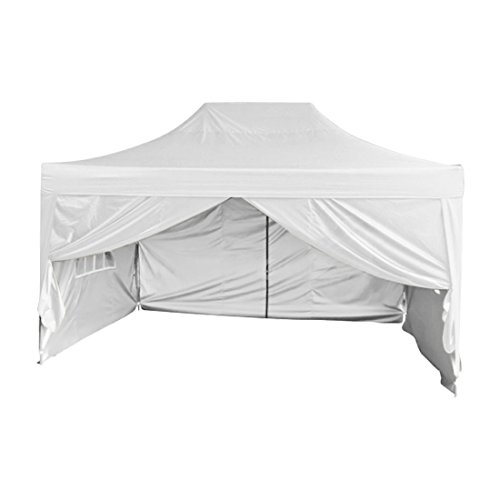 Big Sale!Quictent Silvox 100% Waterproof 10u0027x15u0027 EZ Pop Up Canopy Gazebo Party Tent Portable Pyramid-roofed 100% Waterproof--8 colors 3 Year Warranty ...  sc 1 st  Amazon.com & 15x10 Canopy Shelter: Amazon.com