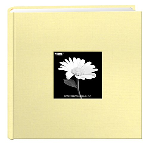 fabric-frame-cover-photo-album-200-pockets-hold-4x6-photos-soft-yellow