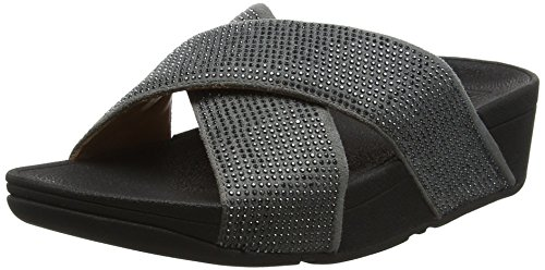 Fitflop Pewter 54 Sandals para Ritzy Gris Sandalias Slide Mujer rqwrH0