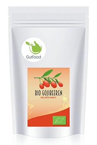 Goldener Zweig - naturreine BIO Goji Beeren ganz - 1kg