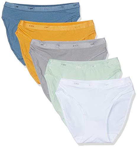 Tasche Blu Giallo Verde 85s Opale 5 lotto antico di Ecodim Slip donna Grigio Perlato Dim multicolor da X3 qxw7an6CRt