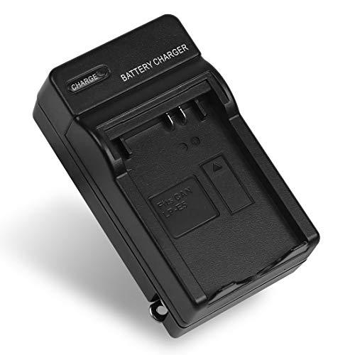 LP-E5 Battery Charger LC-E5 LC-E5E for Canon EOS 1000D, EOS 450D, EOS 500D, EOS Kiss F, EOS Kiss X2, EOS Kiss X3, EOS Rebel T1i, EOS Rebel XS, EOS Rebel Xsi ()