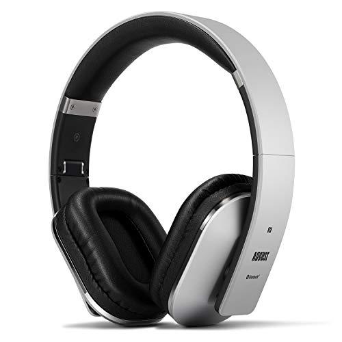 August EP650 Bluetooth Wireless Headphones - Custom Sound Control with...