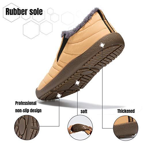 Calientes Planas Zapatos Botas Invierno Boots Cortas Nieve Forradas znzH4Brqx